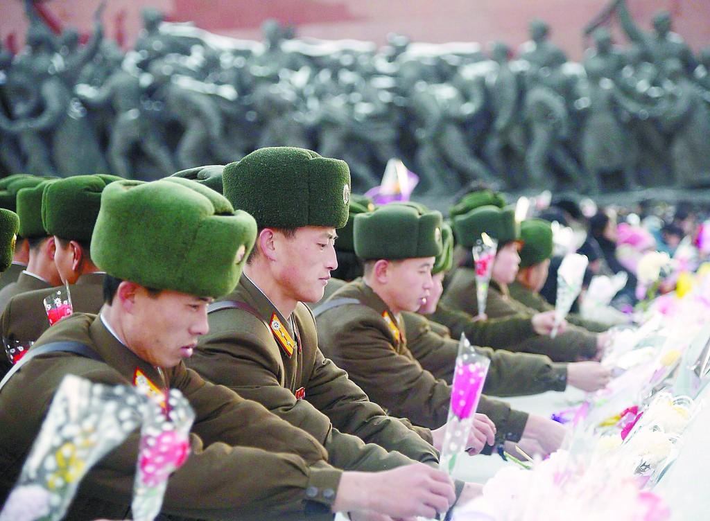 朝纪念金正日逝世三周年 韩媒称金正恩时代开启