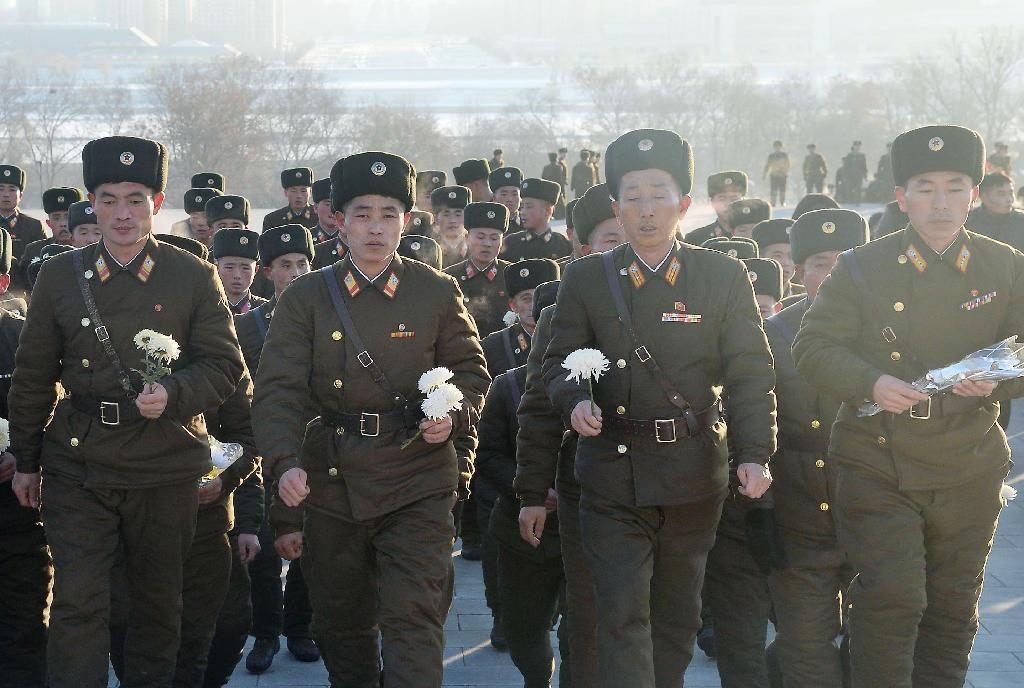 朝鲜隆重纪念金正日逝世三周年 朝媒盛赞其业绩