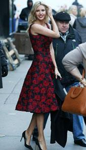 伊万卡·特朗普12月17日纽约街拍