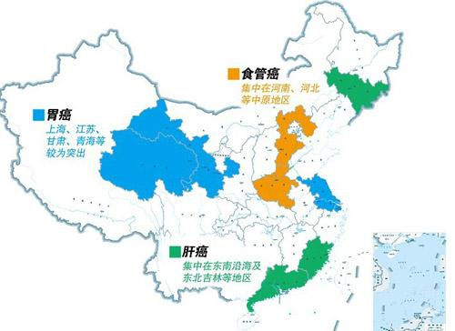 新版中国癌症地图,你的城市上榜了吗?