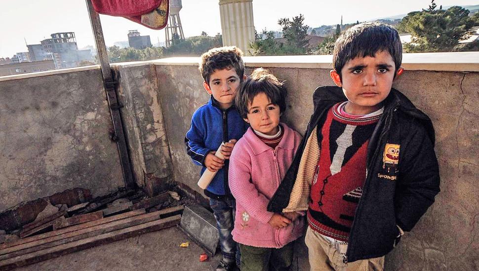 图记叙利亚难民在土耳其的艰苦生活
