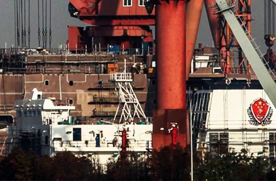 第2艘万吨级海警船现身?