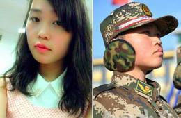 女子特战队员红妆戎装对比
