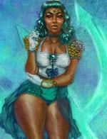 美非裔插画家以黑人形象诠释美少女战士