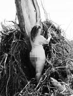 美女子自然疗法瘦身成功后拍裸照庆祝