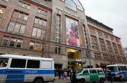 柏林百年老店卡迪威遭抢劫15人受伤