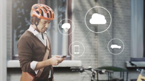 沃尔沃研发自行车/汽车防撞警示系统