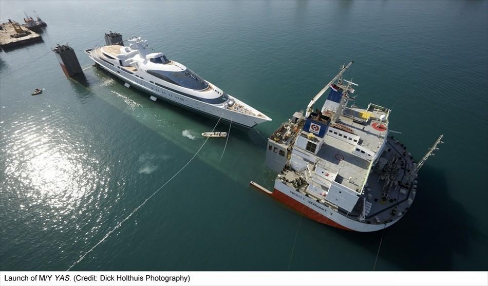 阿联酋将退役军舰改成游艇