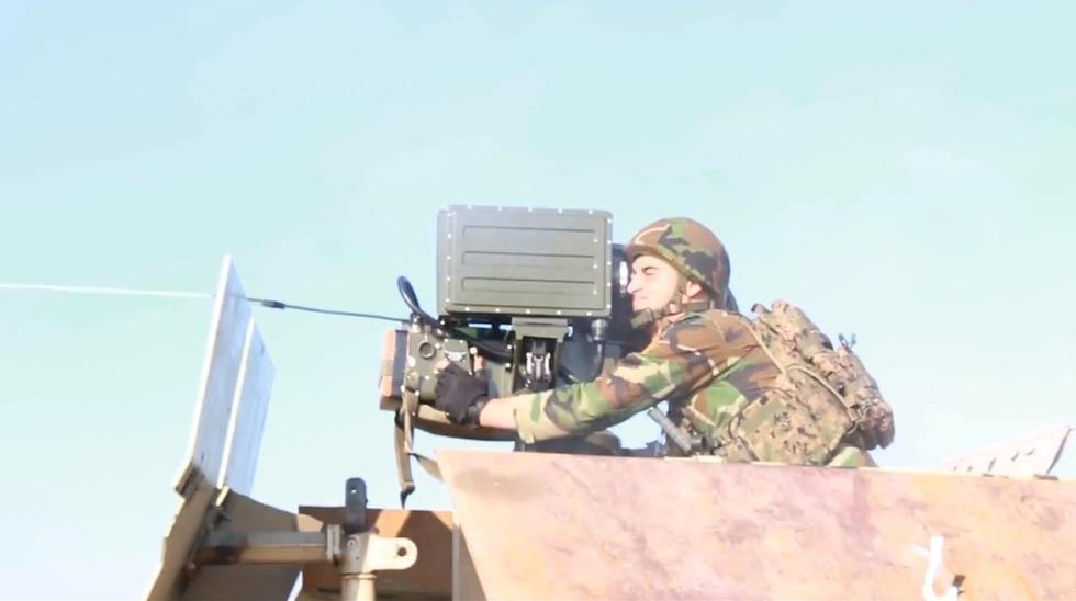 伊拉克战场出现中国红箭8