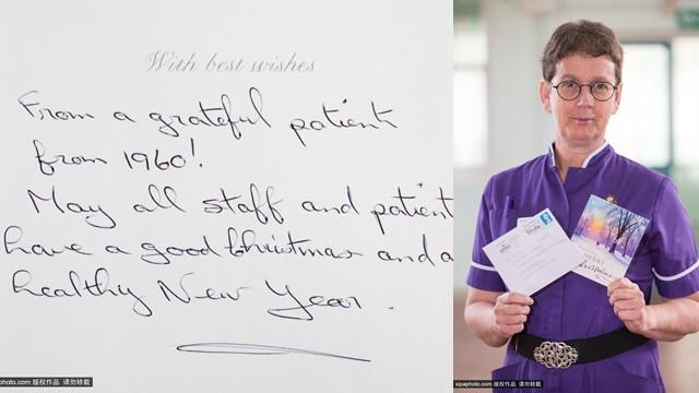 英国一病人连续54年为医院寄圣诞贺卡(图)
