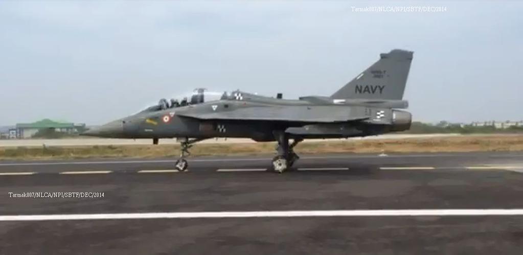 印度LCA战机模拟航母起飞