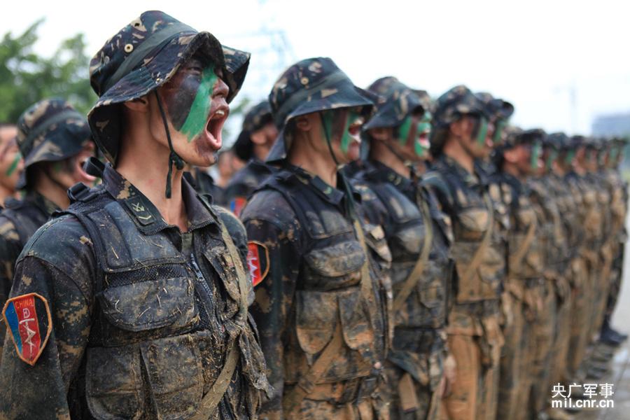 驻澳特种部队魔鬼训练场面