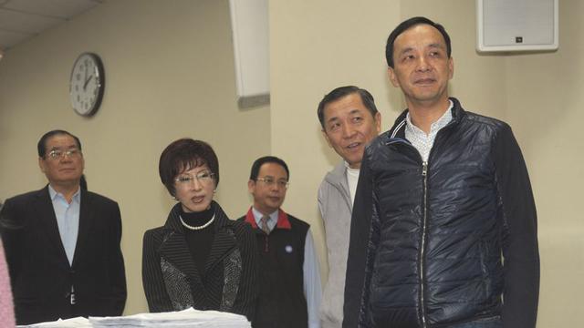 朱立伦登记补选中国国民党主席 吁找回创党精神