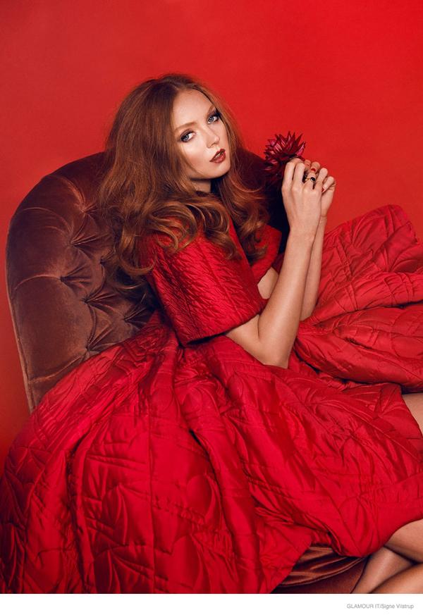 莉莉科尔 时尚大片 童颜超模精致如芭比娃娃