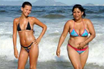 香艳热辣的巴西海滩