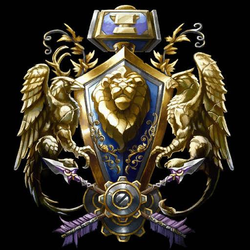 魔兽世界各种族阵营精美徽记
