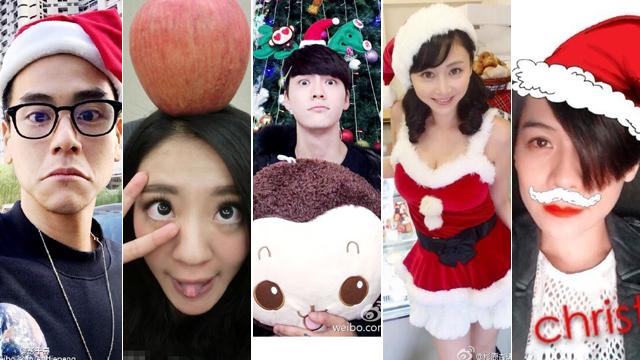 娱乐圈圣诞节众生相 和明星一起过圣诞