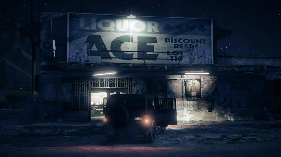 《侠盗猎车5》绝美艺术图欣赏 城市美景让人沉醉