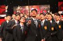 国足举行亚洲杯出征仪式 佩兰豪言小组头名出线