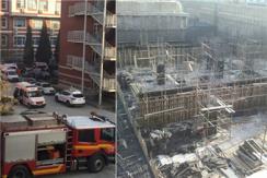 清华附中工地脚手架倒塌 已致10人死