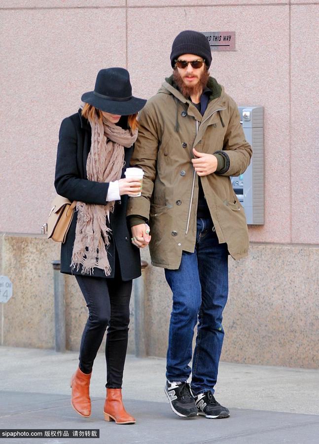 艾玛·斯通12月29日纽约街拍