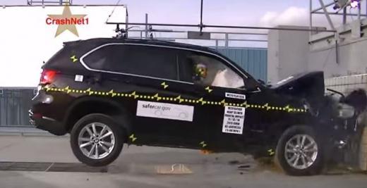 斩获五星等级 宝马X5在美进行碰撞测试-国际车讯高清图片