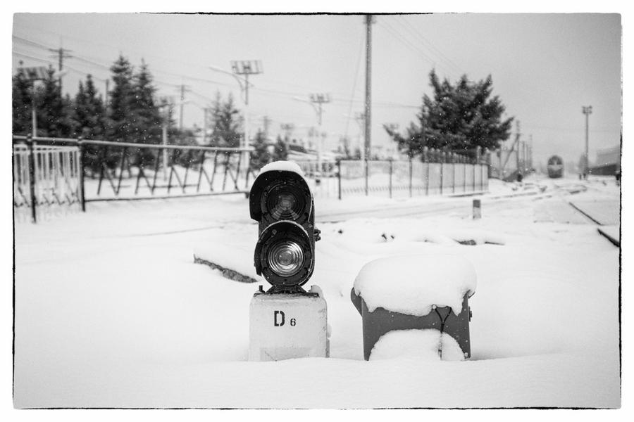 阿尔山雪影