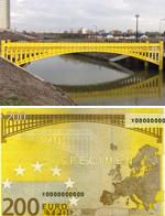 荷兰建筑师将欧元纸币上虚构桥梁建成真桥