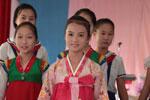 摄影师拍朝鲜女子