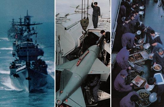 八十年代中国海军经典照