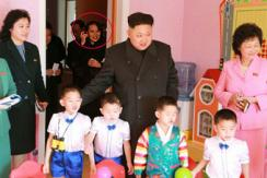 金正恩新年携妹妹视察平壤育儿院