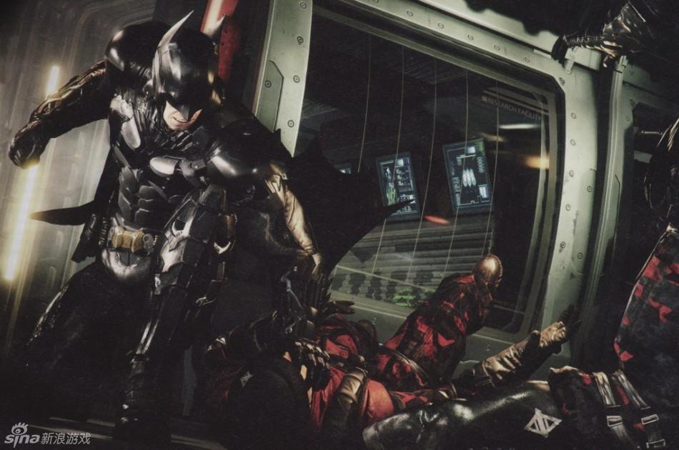 《蝙蝠侠:阿克汉姆骑士》新图公布