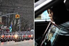 纽约举行被枪杀华裔警察刘文健葬礼