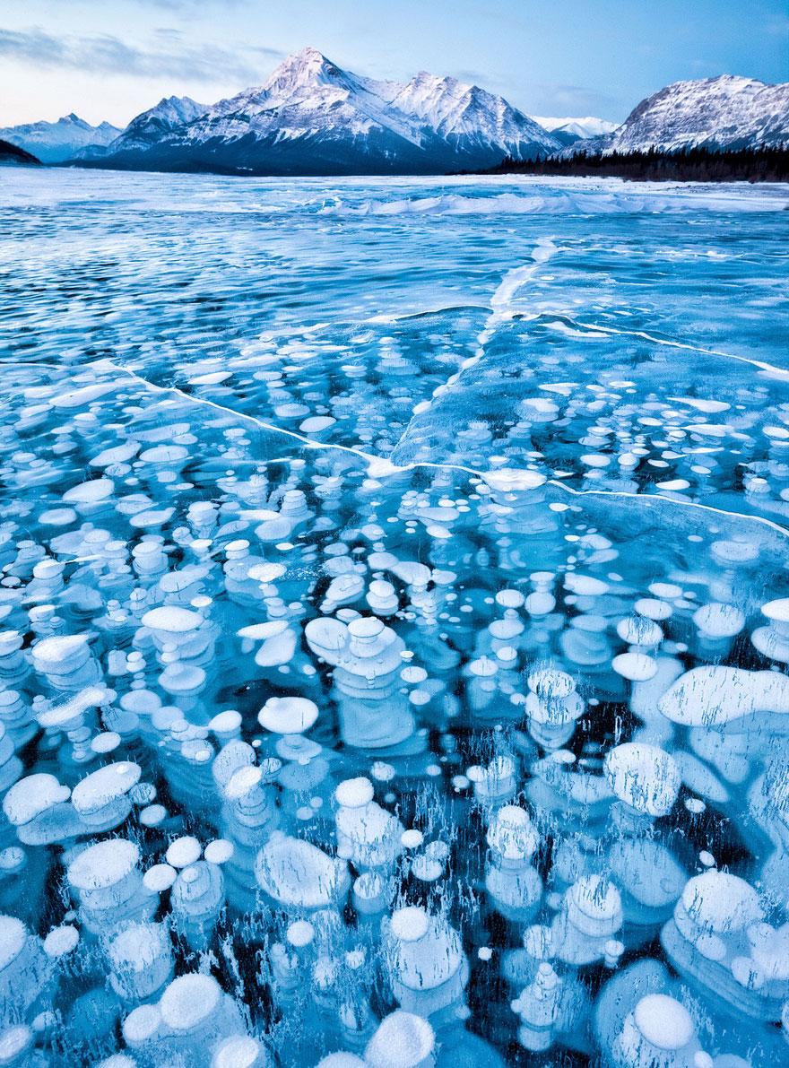 加拿大亚伯拉罕湖