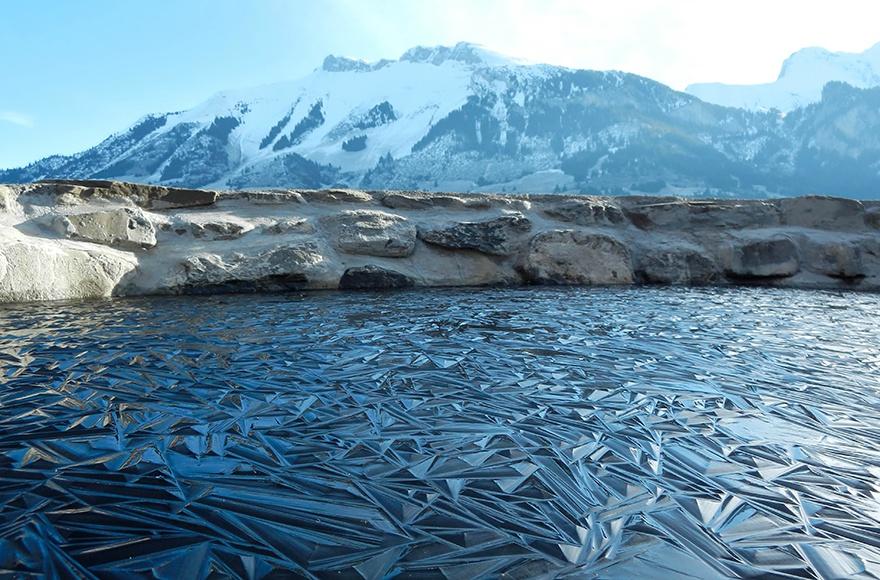 瑞士一个不知名小湖