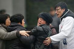 """上海外滩踩踏事件遇难者""""头七"""""""