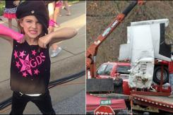 美7岁女孩空难中幸存 徒步两公里自救