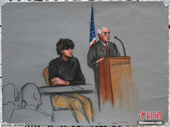 波士顿爆炸案审讯至少需仨月 嫌犯否认全部指控