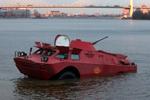 俄罗斯惊现装甲出租车