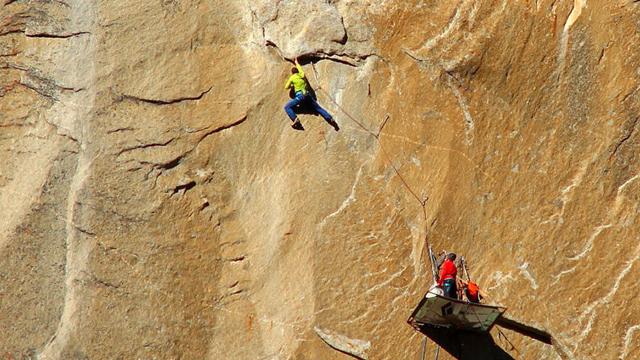 埃尔卡皮坦山峰绝壁不可征服? 2人已在上过10天