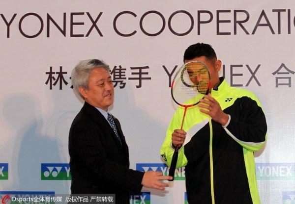 林丹欲做羽坛梅西 签日本品牌将面临巨额赔偿?
