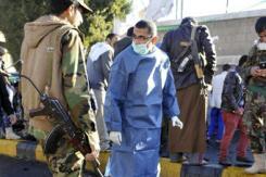 也门首都一警察学院遭袭150人死伤