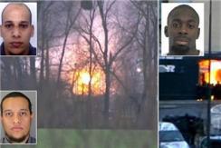 法部队对嫌犯发动强攻 3名嫌犯被击毙