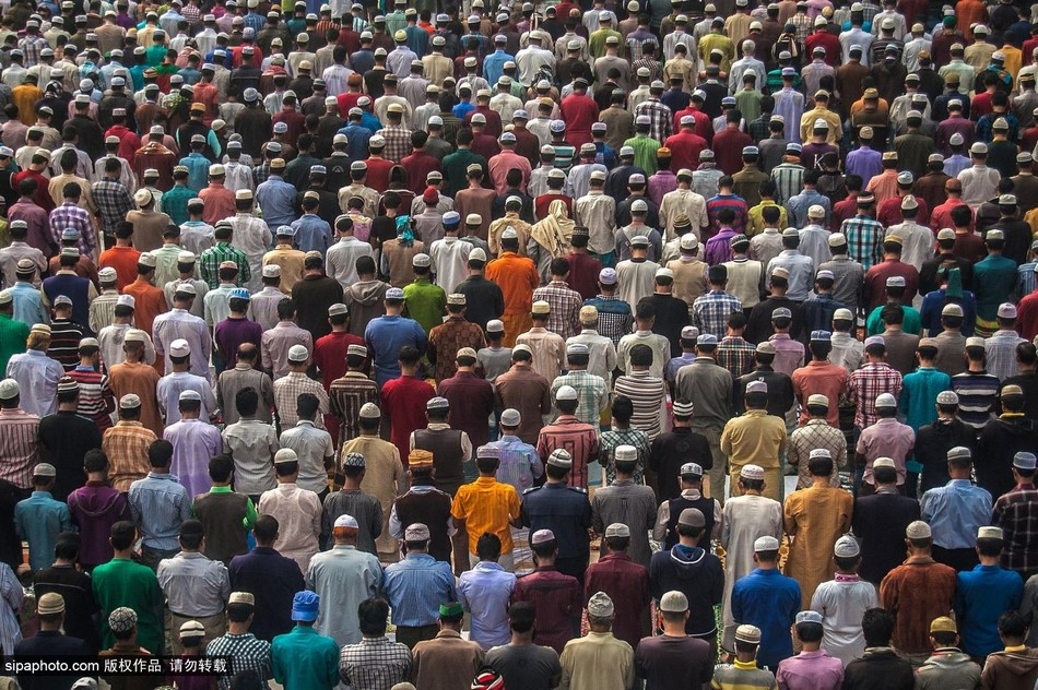 孟加拉/孟加拉穆斯林谴责巴黎恐怖袭击案(1/8)