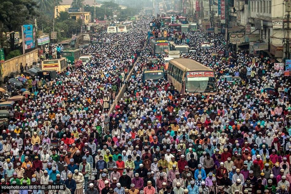 孟加拉/孟加拉穆斯林谴责巴黎恐怖袭击案(6/8)