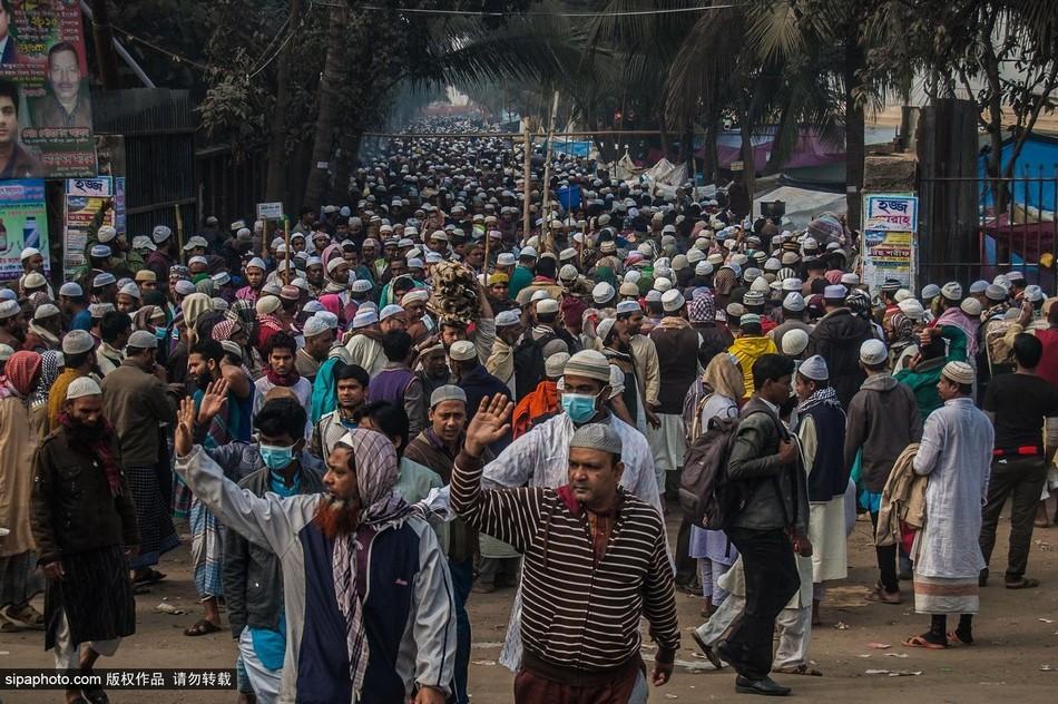 孟加拉/孟加拉穆斯林谴责巴黎恐怖袭击案(7/8)