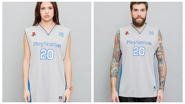 PlayStation 20周年纪念周边服装