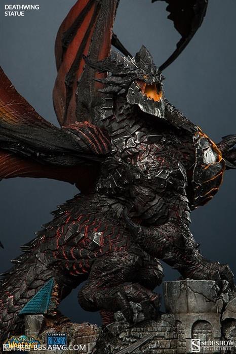 """魔兽""""死亡之翼""""雕像:价格与外形一样霸气"""