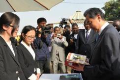 王毅:做中非友谊的支持者建设者传播者