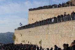 巴黎恐袭事件四名犹太人葬礼数千人悼念